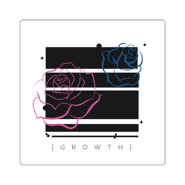 GROWTH Square Sticker