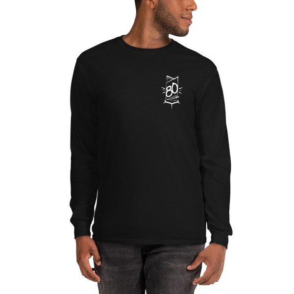 EIGHT ZERO EMBLEM Unisex Long Sleeve Shirt