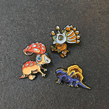 Load image into Gallery viewer, Fungisaurs Enamel Pin - Trishroomops