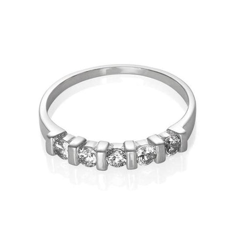 New 925 Sterling Silver Cubic Zirconia CZ Ring