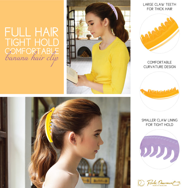 Hair Banana Ponytail Clip Maker Clincher Styling Girls