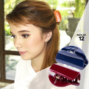 Jaw Claw Hair Clip Flat No Slip Grip Accessories For Styling