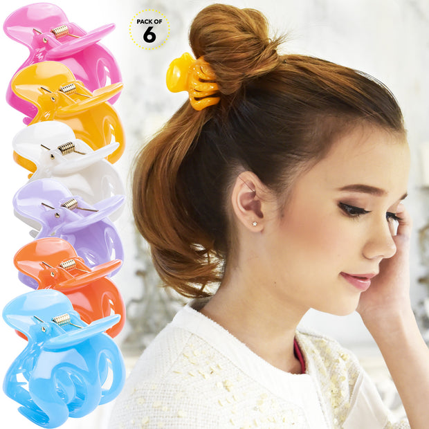 Hair Clips Jaw Claw No Slip Strong Secure Salon Styling