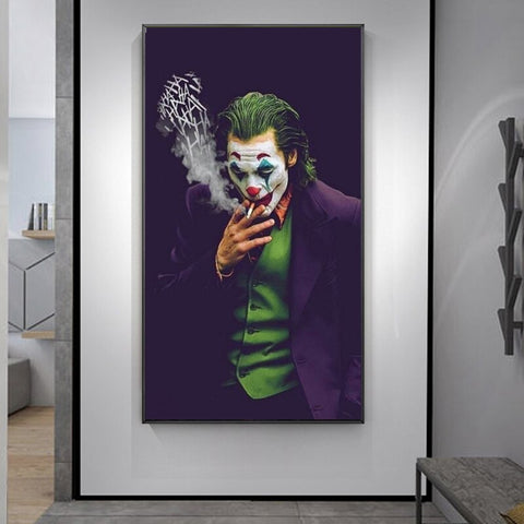 Smoking Joker
