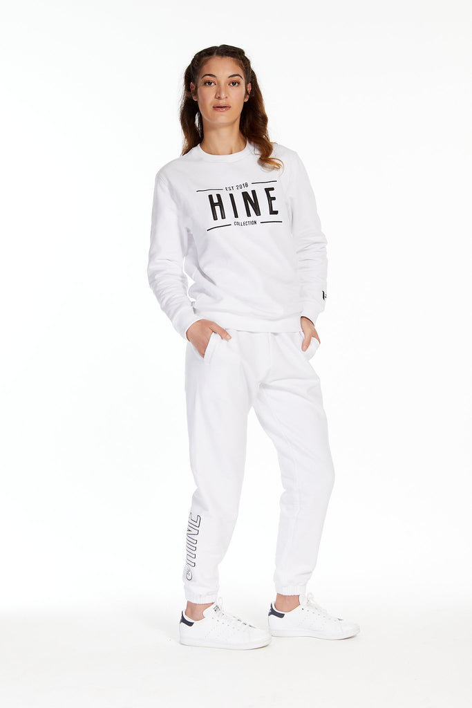 2.0 TRACKPANTS WHITE