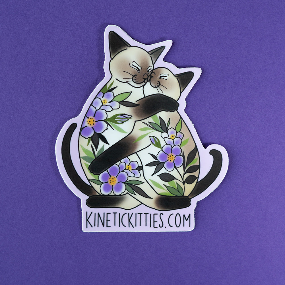 Kinetic Kitties Sticker 3""