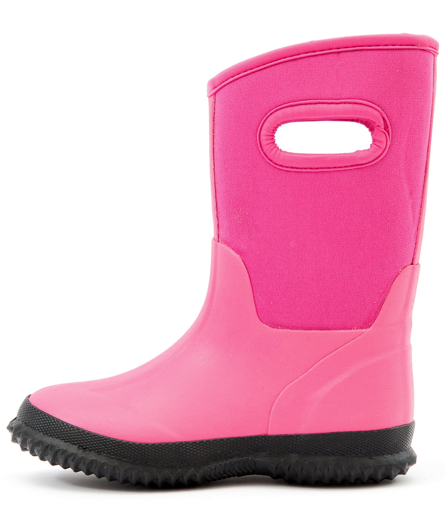 Outee Kids Girls Neoprene Snow Boots Mud Boots - Pink