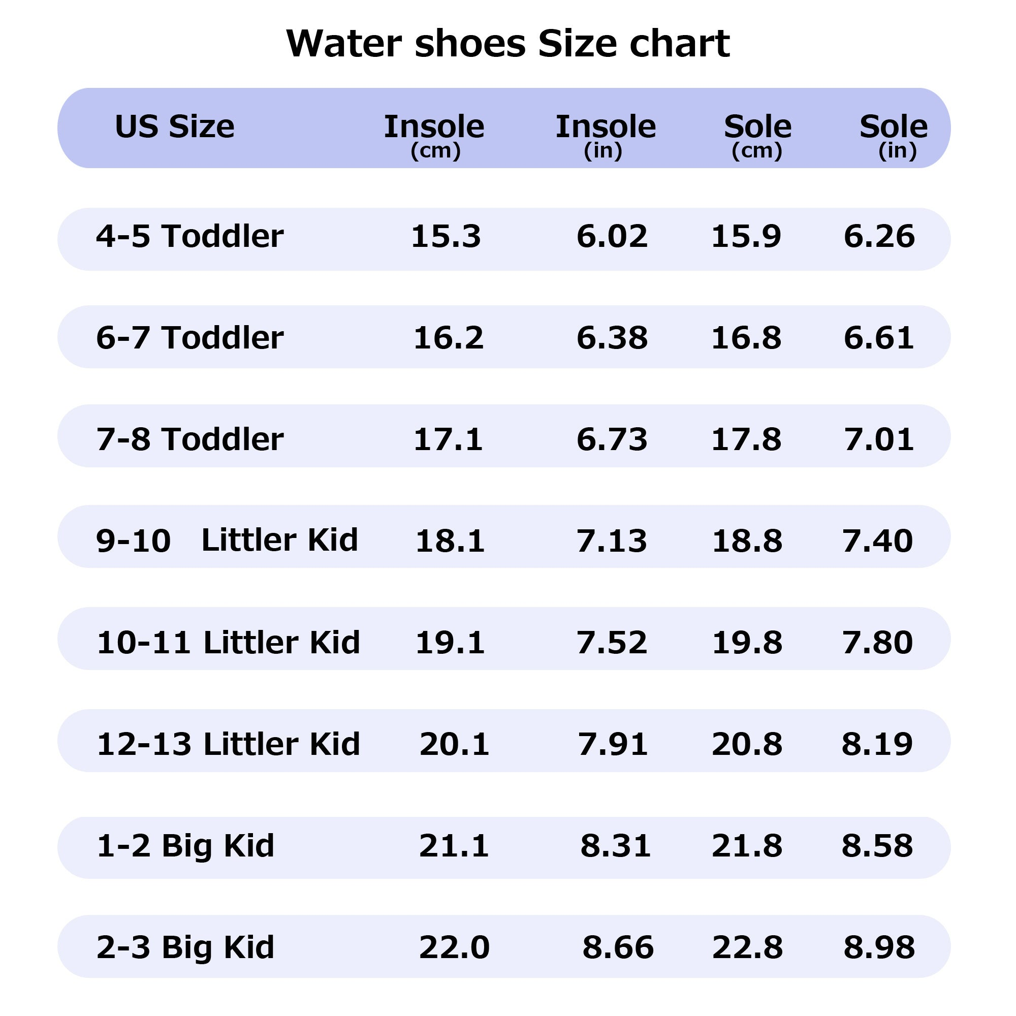 Toandon Toddler Kids Girls Adorable Printed Water Shoes - Purple Mermaid