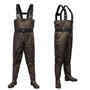 Open image in slideshow, Outee Waders Fishing Waders with Boots Waterproof Chest Bootfoot Waders Hunting Chest Wader for Men Women