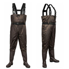 Outee Waders Fishing Waders with Boots Waterproof Lightweight Chest Bootfoot Waders Hunting Chest Wader for Men Women