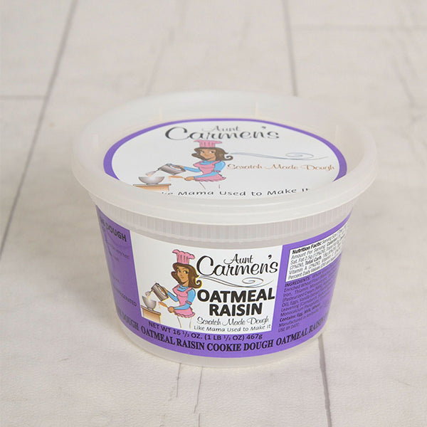 Gourmet Oatmeal Raisin Cookie Dough (Bundle Price)