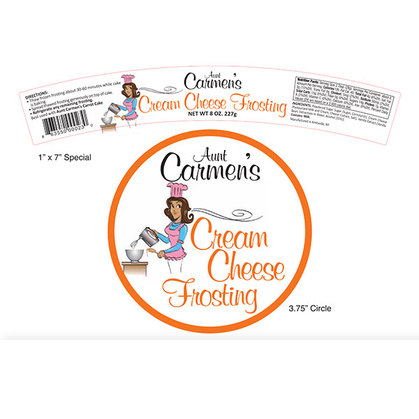 Gourmet Cream Cheese Frosting (Bundle Price)