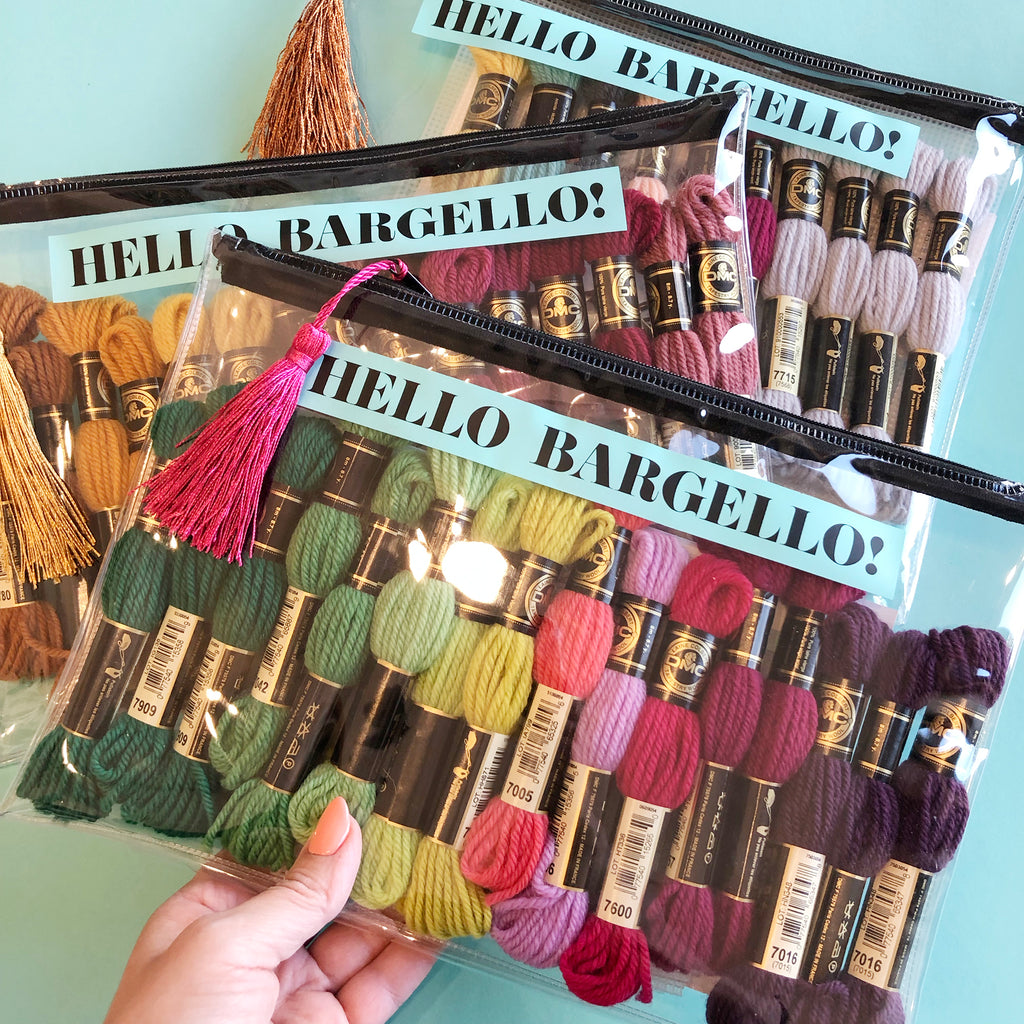 Hello Bargello Project Bag