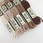 Tapestry Wool: Browns, Tans, Beige