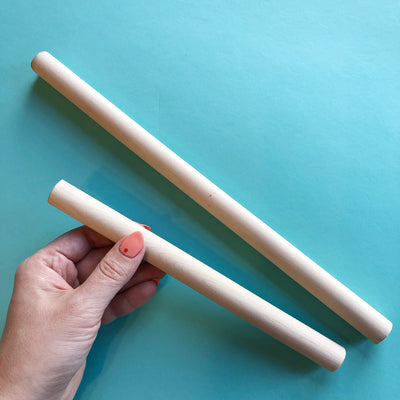 Chunky Wooden Dowels