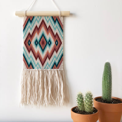 Dreams Wall Hanging Kit (Blue/Tan)