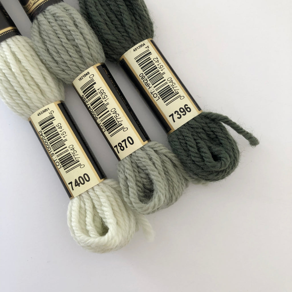 Tapestry Wool: Greens