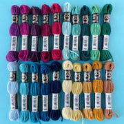 Jewel Tones 20 Skein Tapestry Wool Bundle