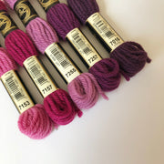 Tapestry Wool: Purples, Mauves, Burgundy