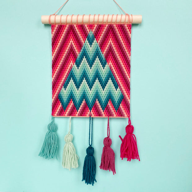 """O Chevron Tree"" Wall Hanging"