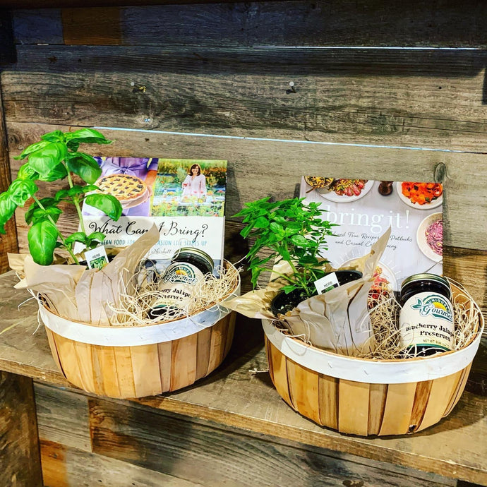 Curbside Care Baskets From Enchanted Gardens