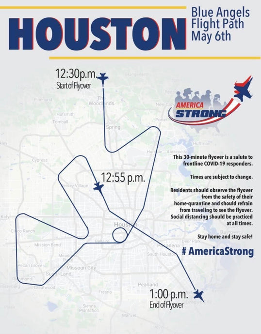 Keep Your Eyes On The Sky For Flyovers This Wednesday And Friday In Fort Bend County