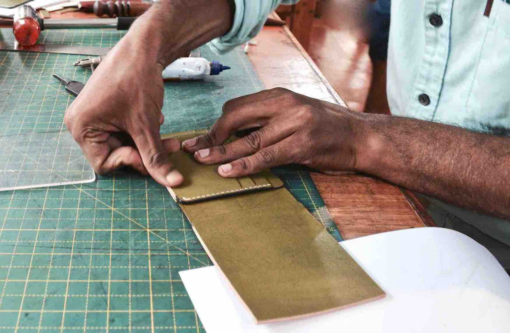 The Traditional Art of Making a Leather Wallet