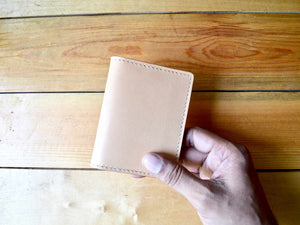 Bifold Card Wallet No. 1 - Nude
