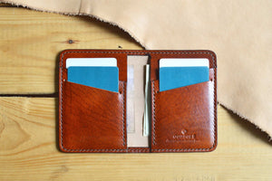 Bifold Card Wallet No. 2 - 3 Colors