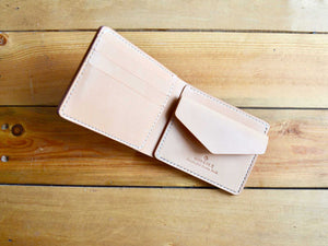 Coin Pocket Wallet - Natural Tan