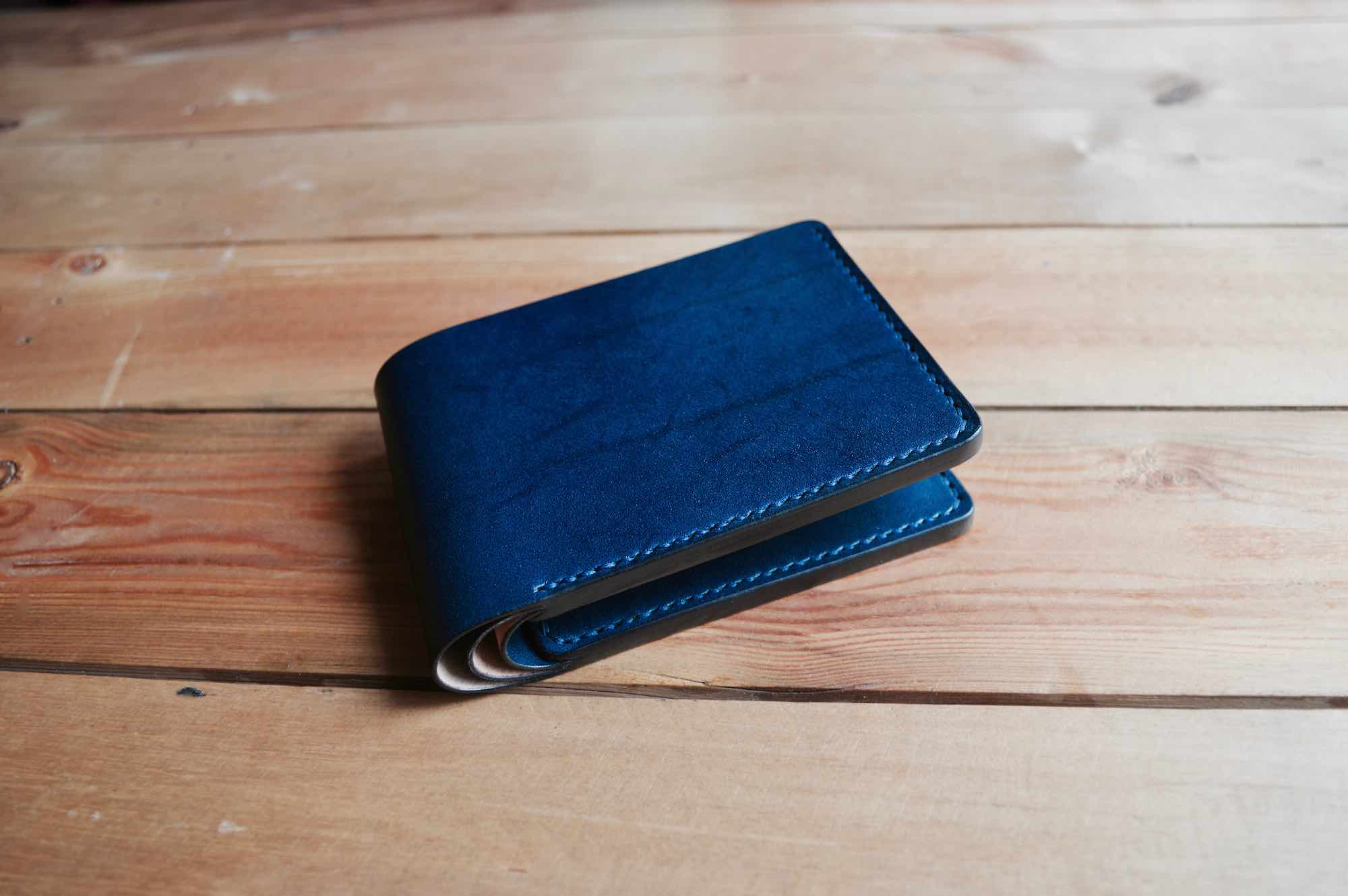Coin Pocket Wallet 100% Handmade with Full Grain Leather