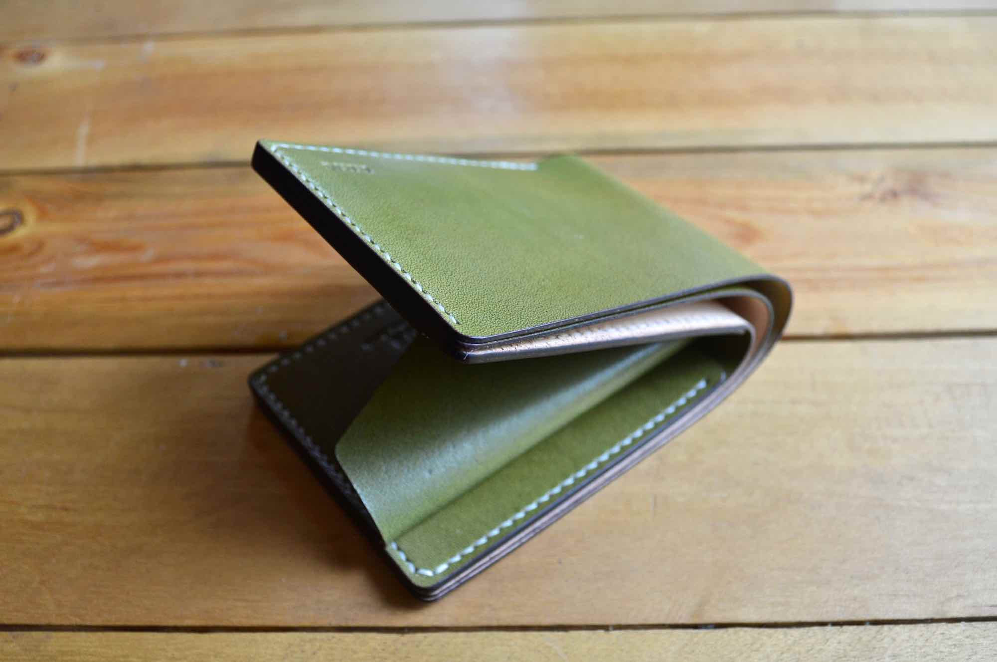 Coin Pocket Wallet - Olive