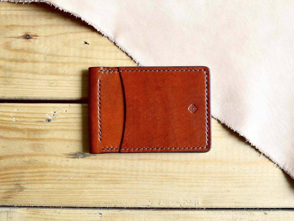 Money Clip Wallet - Chestnut Brown