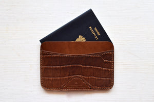 Passport Case (Croc)