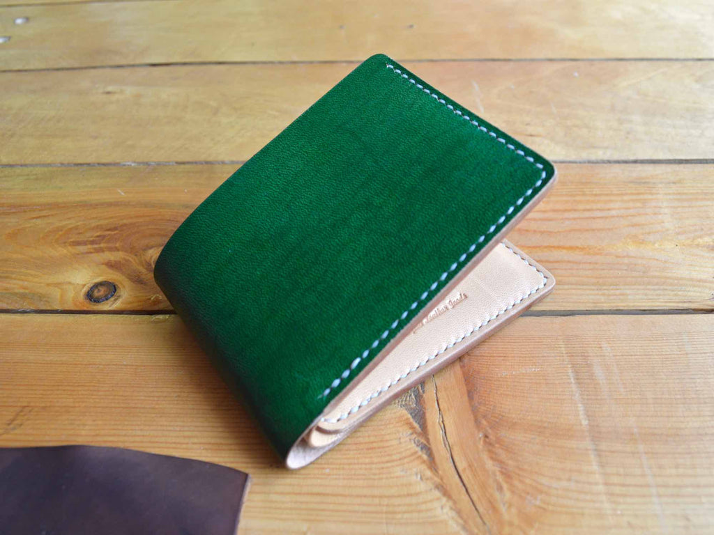 Classic Wallet - Forest & Nude