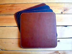 Reversible Leather Mouse Pad