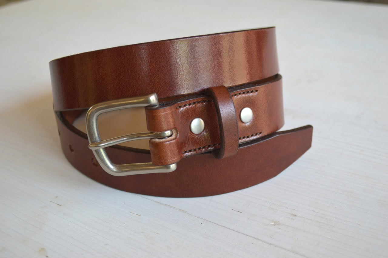 Slim Lifetime Belt - Mahogany