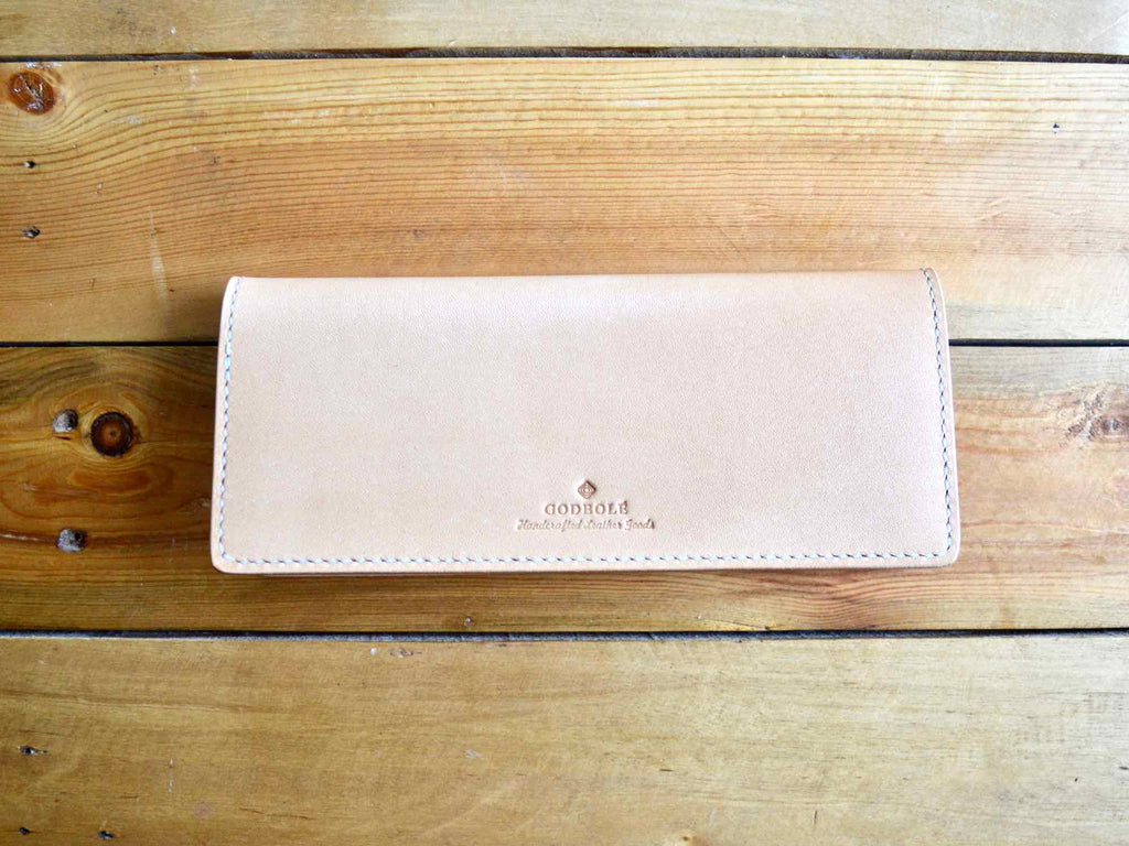 Long Wallet - Natural Tan