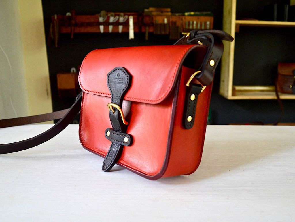 Isabelle - Classic Red Crossbody Bag