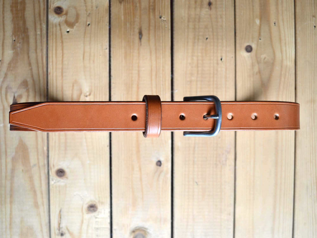 Slim Lifetime Belt - Tan