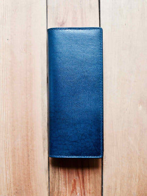Long Bifold Wallet - Navy