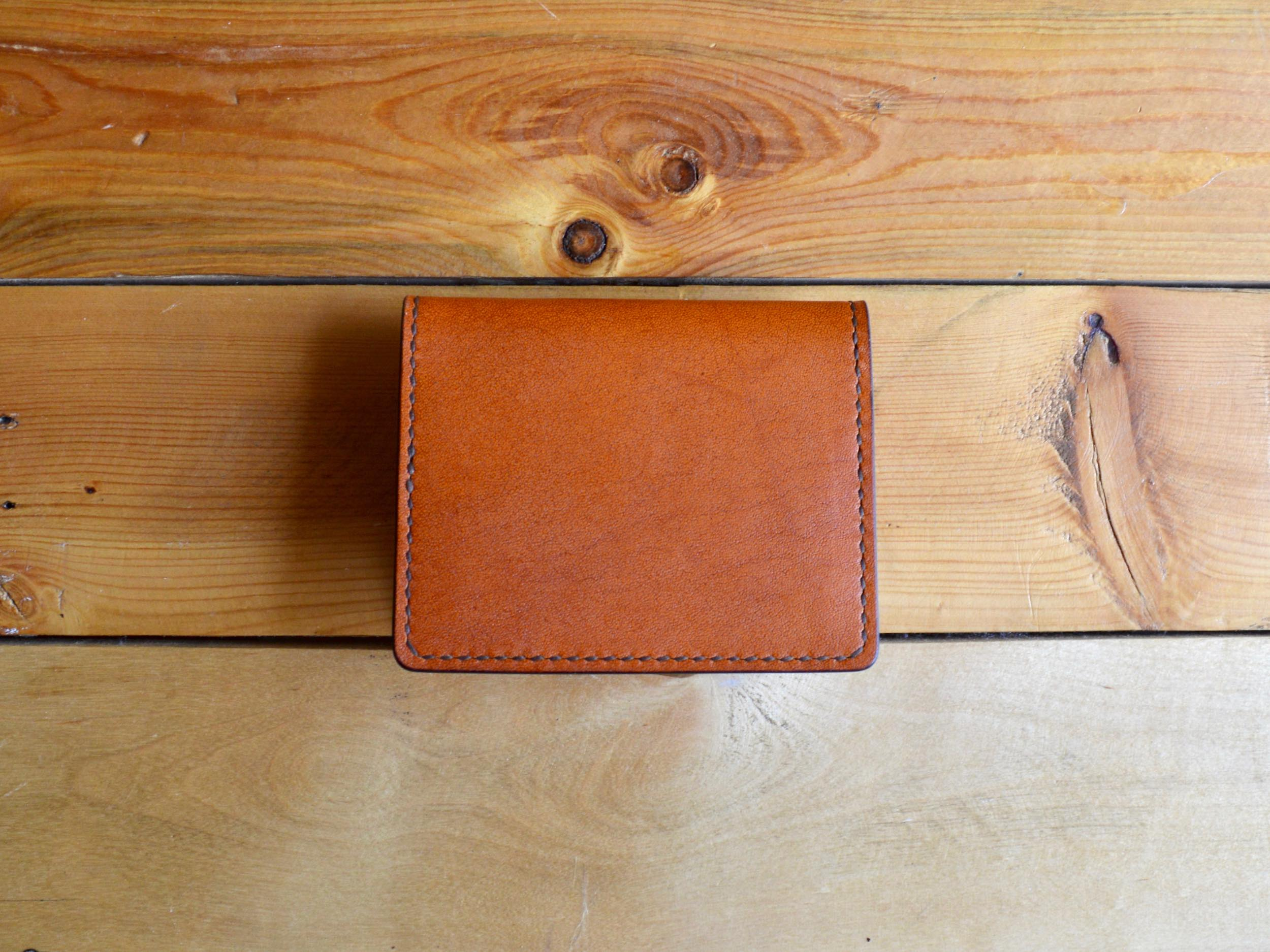 Bifold Card Wallet No. 1 - Chestnut