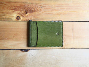 Money Clip Wallet - Olive