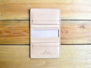 Bifold Card Wallet No. 1 - Natural Tan