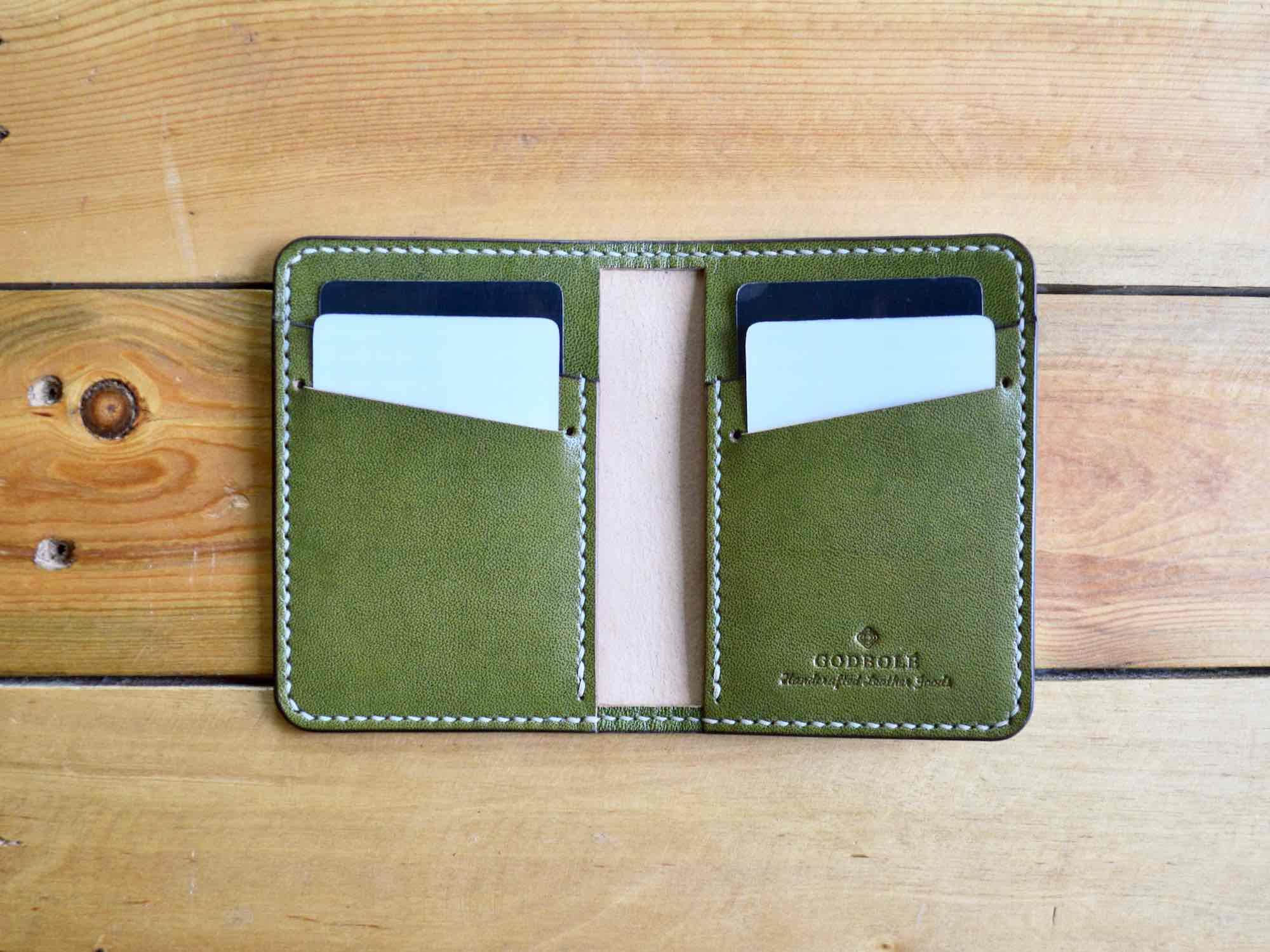 Bifold Card Wallet No. 2 - Olive