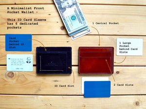 Front Pocket ID Wallet - 3 Colors