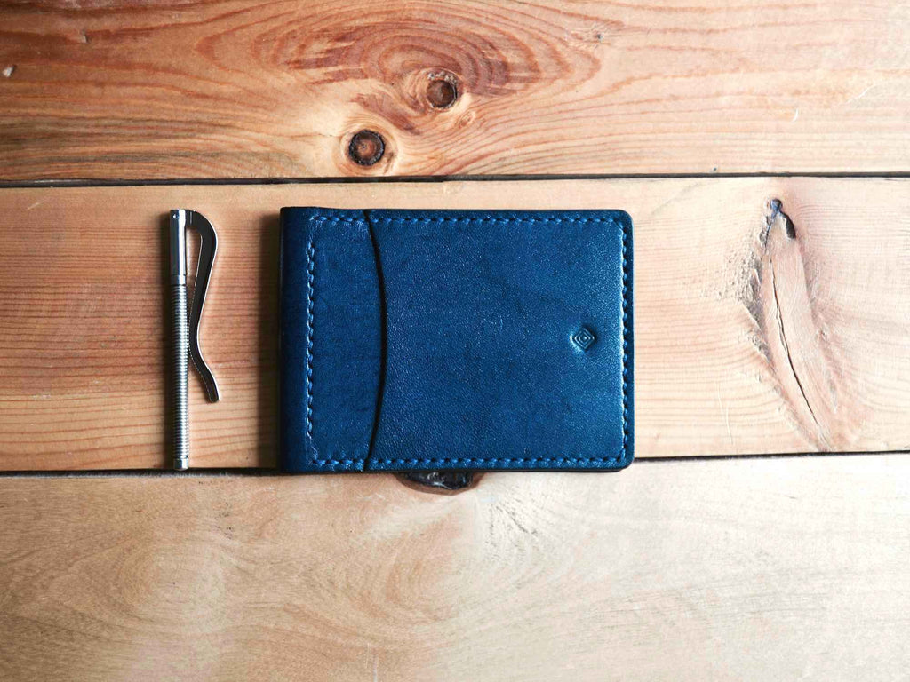 Money Clip Wallet - Navy