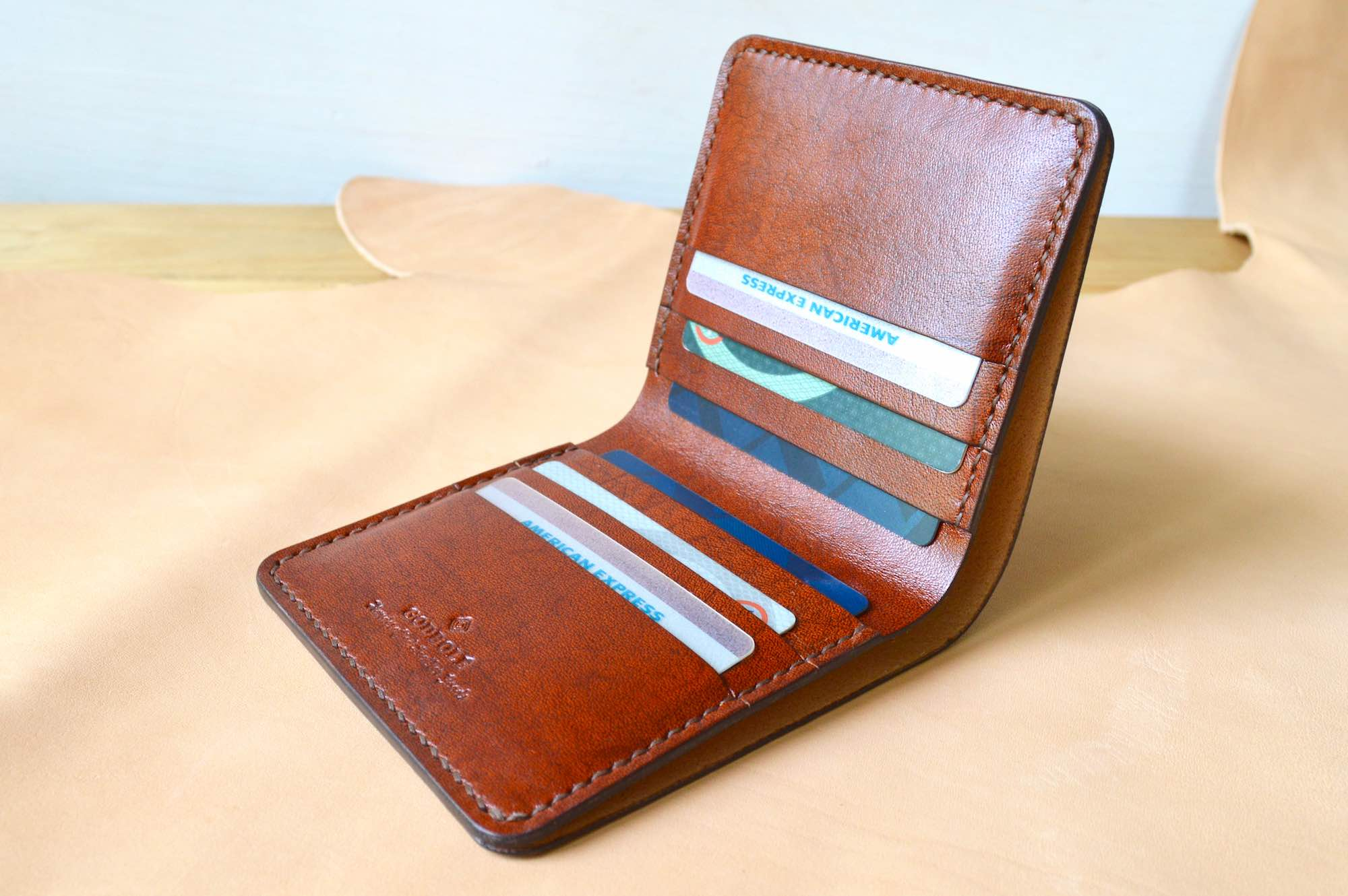 Slim Bifold No. 1 - Chestnut Brown