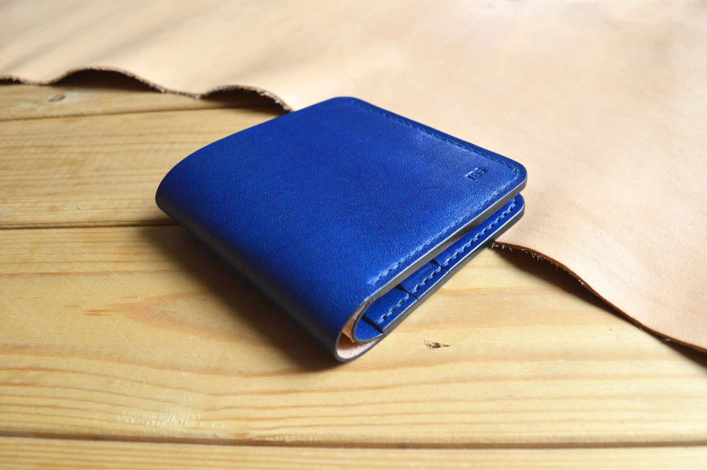 Slim Bifold No. 1 - Lapis Blue