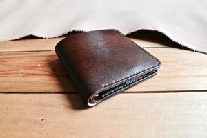 Slim Bifold No. 1 - Chocolate